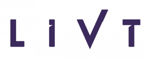 LIVT logo in purple